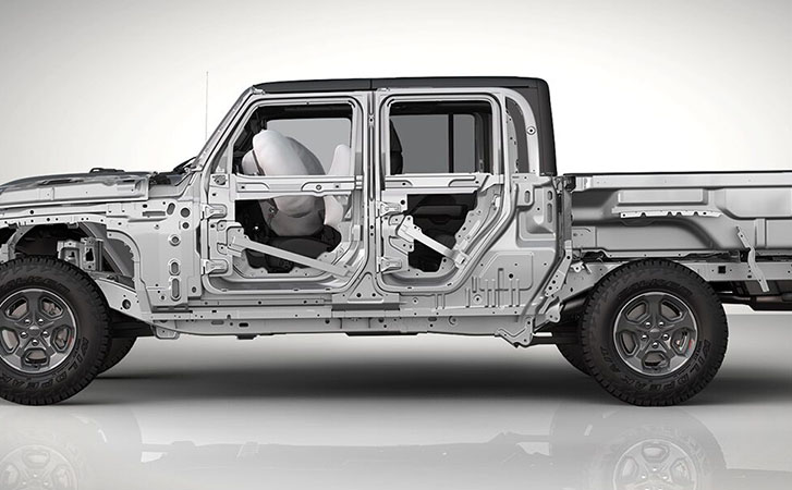 2021 Jeep Gladiator safety