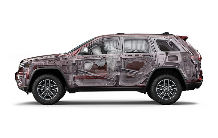 2021 Jeep Grand Cherokee safety