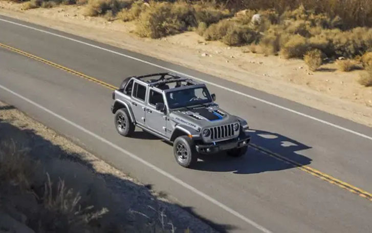 2021 Jeep Wrangler 4xe performance