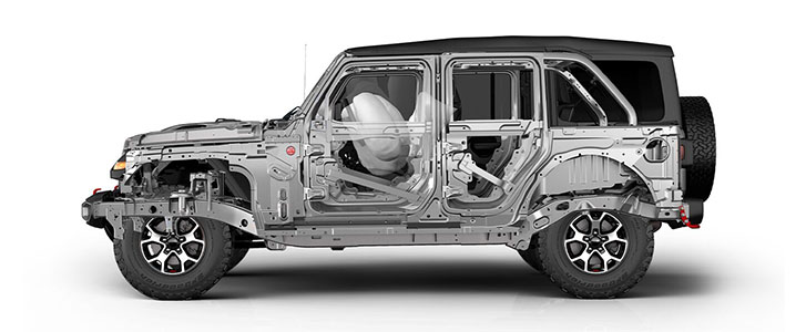 2021 Jeep Wrangler safety