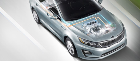 2015 Kia Optima Hybrid performance