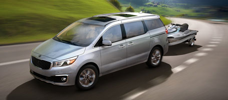 2017 KIA Sedona performance
