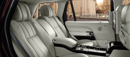 2015 Land Rover Range Rover comfort