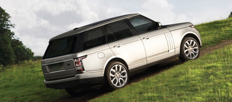 2015 Land Rover Range Rover safety