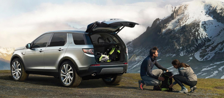 2016 Land Rover Discovery Sport cargo space