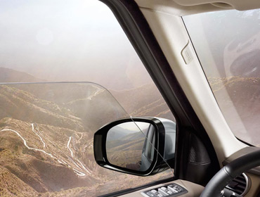 2016 Land Rover LR4 visibility