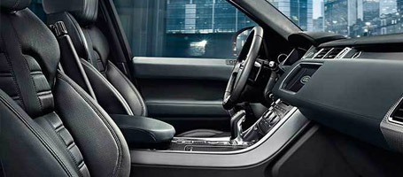 2016 Land Rover Range Rover Sport driver's seat