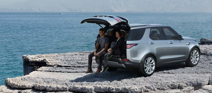 2020 Land Rover Discovery comfort