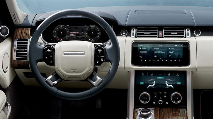 2020 Land Rover Range Rover Phev comfort