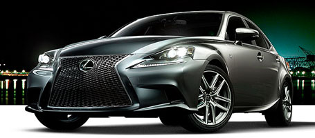 2016 Lexus IS safety