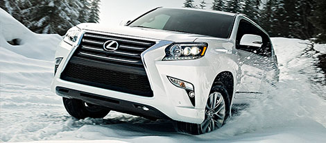 2017 Lexus GX performance