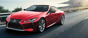 2018 Lexus LC 500 performance