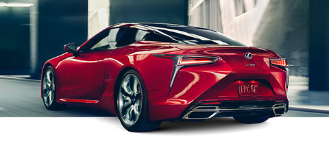 2018 Lexus LC 500 safety