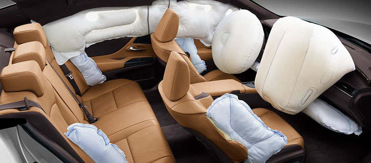 10‐Airbag System*