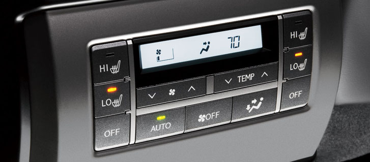 Three-Zone Automatic Climate Control