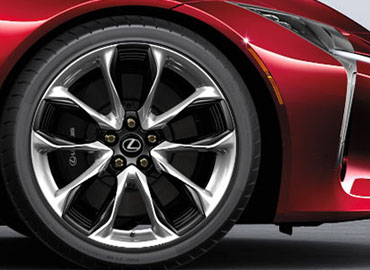 21-Inch Forged Alloy Wheels*