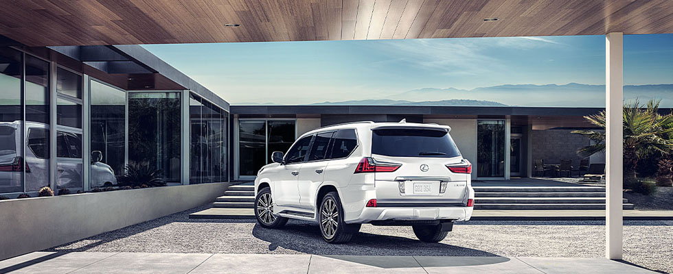 2019 Lexus LX Safety Main Img