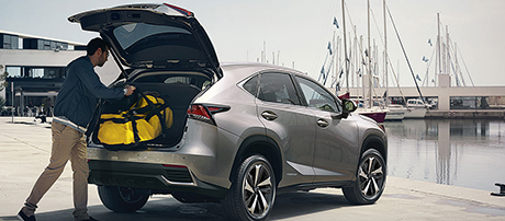 2019 Lexus NX Power Rear Door With Kick Sensor