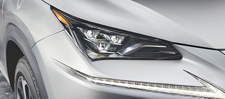2019 Lexus NX Triple-Beam Led Headlamps