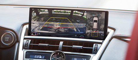 2019 Lexus NX Panoramic View Monitor