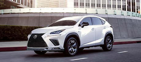 2019 Lexus NX Blind Spot Monitor With Rear Cross-Traffic Alert