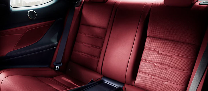 Rear–Seat Comfort And Convenience