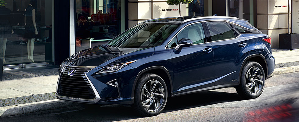 2019 Lexus RX Safety Main Img