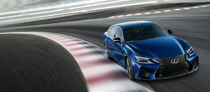 2020 Lexus GS F performance