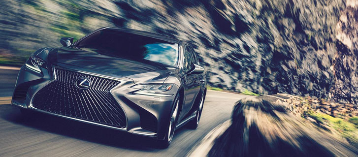 2020 Lexus LS performance
