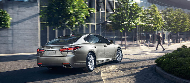2020 Lexus LS safety
