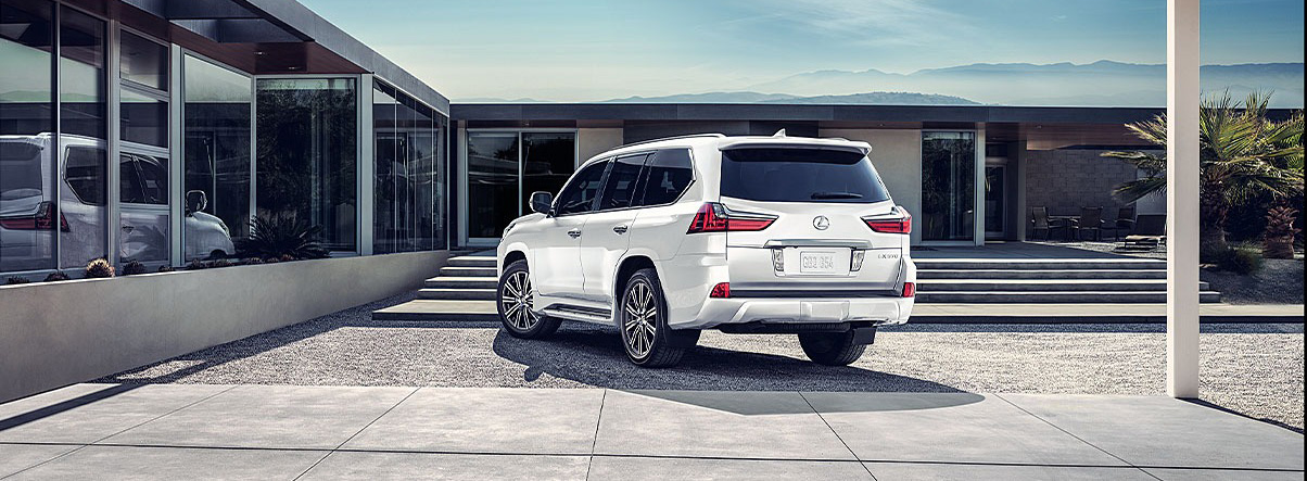 2020 Lexus LX Safety Main Img