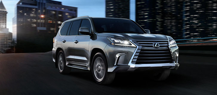 2020 Lexus LX safety