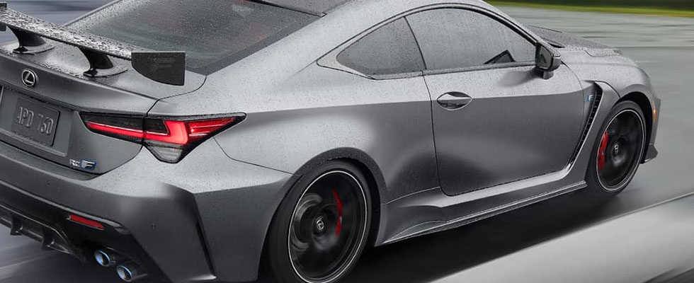2020 Lexus RC F Safety Main Img