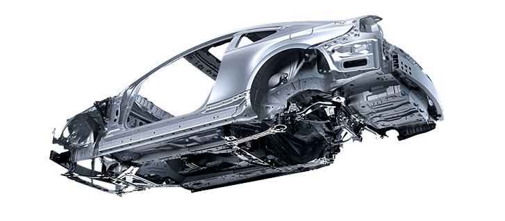 Rigid Body Structure With Crumple Zones