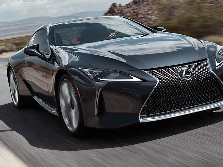 2021 Lexus LC performance