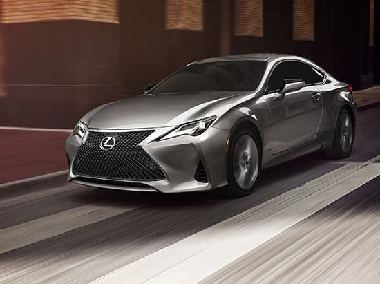 2021 Lexus RC performance