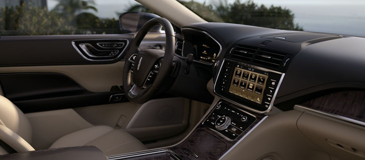 2019 Lincoln Continental comfort