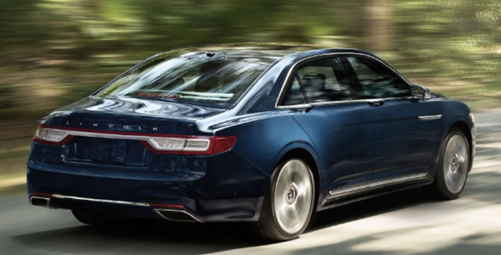 2020 Lincoln Continental performance
