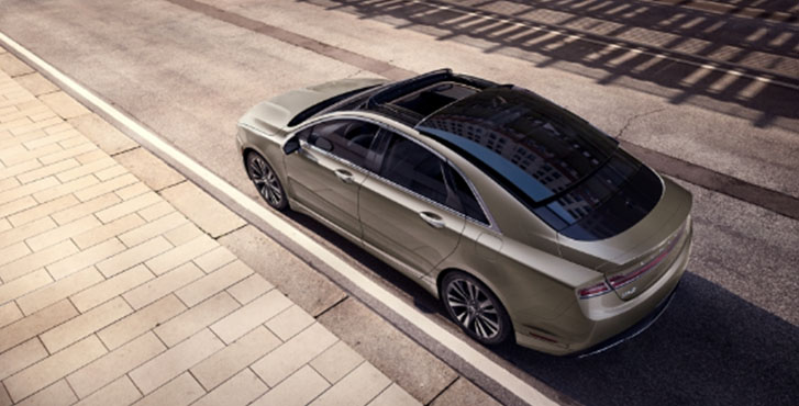 2020 Lincoln MKZ appearance