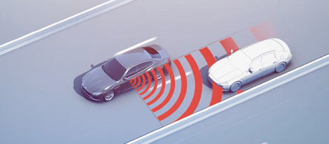Active Blind Spot Assist and Rear Cross Path Function