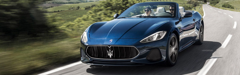 2018 Maserati GranTurismo Convertible Safety Main Img