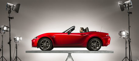2016 Mazda MX-5 Miata Sport performance
