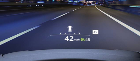 Active Driving Display