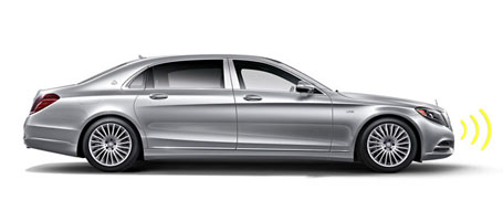 2016 Mercedes-Benz S-Class Maybach safety