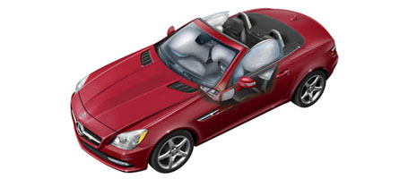 2016 Mercedes-Benz SLK Roadster safety