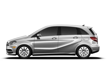 2017 Mercedes-Benz B-Class Electric appearance