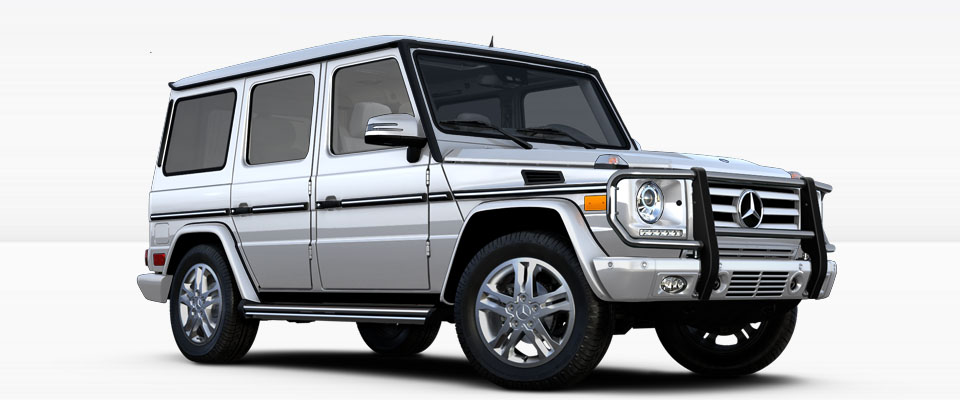 2017 Mercedes-Benz G Class SUV Appearance Main Img