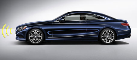 2017 Mercedes-Benz S Class Coupe safety