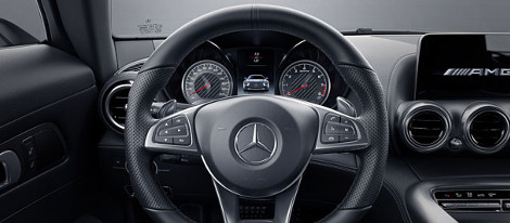 2018 Mercedes-Benz AMG GT Coupe Steering Wheel