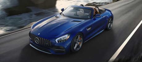 2018 Mercedes-Benz AMG GT Roadster performance